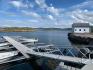 Hafen Lysoya Sjohus Haus Hintergrund