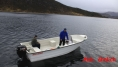 Angelboot mit 20 Fuss und 50 PS