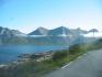 Blick über die Fjordlandschaft