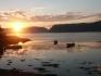 Sonnenuntergang in Namsenfjord