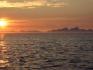 Lichtspiele auf dem Nordmeer
