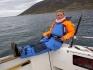 entspanntes Angeln auf dem Nordmeer