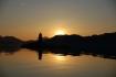 Sonnenuntergang in Steigen