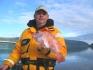 Angler bei schönem Norwegenwetter