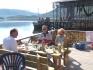 gemütliches Beisammensein im Norwegenurlaub
