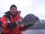 ein seltener Fang: ein Seehase