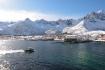 Mefjord Brygge in Winterpracht
