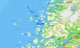 Myken ueber 30km Festland