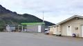Loppa Tankstelle und Filetierraum
