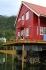 tolle Terrasse mit herrlichem Fjordblick