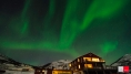 Farbspiel in Buvik Brygge