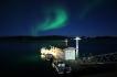 Nordlicht über Nordskot