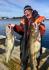 strahlende Angler in Nordskot