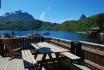 fantastischer Ausblick über den Fjord