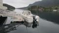 Orisbrygga: Angelboot am Bootssteg