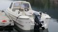 Orisbrygga: Angelboot aus GFK