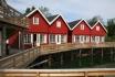 Polarcirkelen Fiskecamp Ferienhäuser 1-4