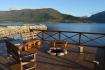 Romsdalsfjord Lodge Ferienhaus Terrasse