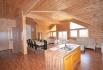 Romsdalsfjord Lodge Ferienhaus großes Wohnzimmer