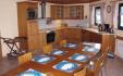 Romsdalsfjord Lodge Ferienhaus Wohnzimmer