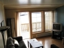 Rørvik Rorbuer 55qm Appartement: Wohnbereich mit herrlichem Ausblick
