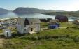 Blick über das Storekorsnes Seehaus Nr. 1