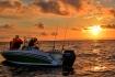 Senja Havfiskesenter Sonnenuntergang
