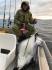Senja Havfiske gluecklicher Angler