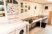 Senja Havfiske - washing room and slaughterplace inside