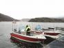 Moderne Aluboote in Roan Sjofiske