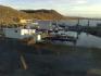 der Bootshafen von Skutvik