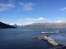 Sorheim Blick vom Balkon Lyngenfjord