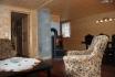 Wohnzimmer mit gemütlichem Ofen