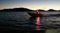 Angeln bis zum Sonnenuntergang in Sörvika