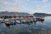 Storekorsnes Hafen im Oktober