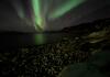 Fantastisches Nordlicht in Storekorsnes