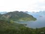 was für ein Traumblick über den Fjord