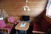 gemütliches Wohnzimmer in der Sjøbua