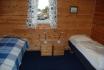 Schlafzimmer in der Sjøbua