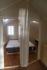 Blick in zwei Schlafzimmer
