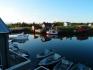 Vega Opplevelsesferie Ferienappartement OG: Blick auf den Fjord und die Angelboote