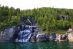 Vevelstad Wasserfall