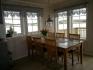 Vevelstad Rorbu 1: Essbereich mit tollem Ausblick