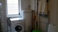 Vevelstad Rorbu 2: Waschmaschine im Badezimmer