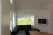 Visit Årviksand Ferienhaus Nr. 1: Wohnzimmer mit gemütlicher Couchecke