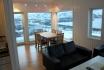 Visit Årviksand Ferienhaus Nr. 2: fantastischer Ausblick vom Eßtisch aus