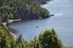 Blick auf den Hausfjord in Vollen
