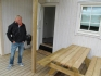 Ylvingen Ferienhaus 1: Holzgarnitur zum Sitzen