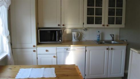 Küche zum Zubereiten kulinarischer Highlights