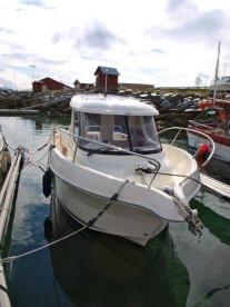 Arvor Kabinenboot in Hansnes Havfiske: mit ordentlich Power zu den Hot Spots